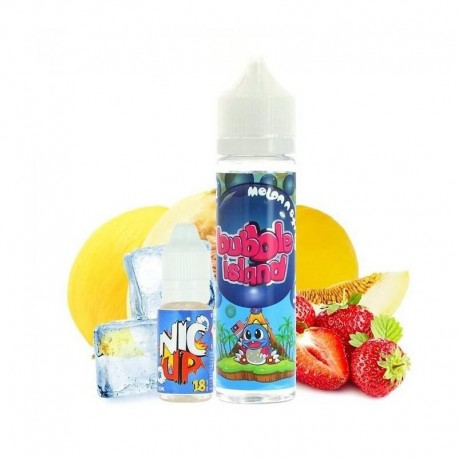 Melon N Straw 50ml - Bubble Island