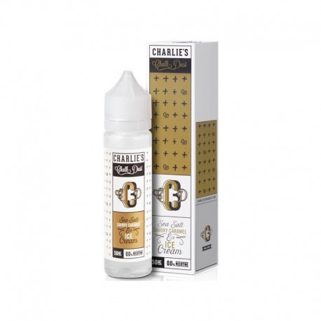 Sea Salt Savory Caramel & Ice Cream 50ml - Charlie's Chalk Dust