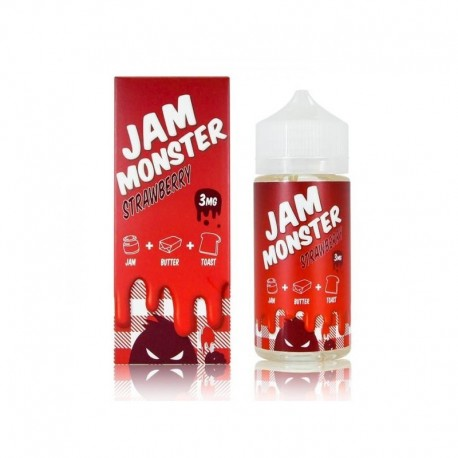 Strawberry 100ml - Jam Monster