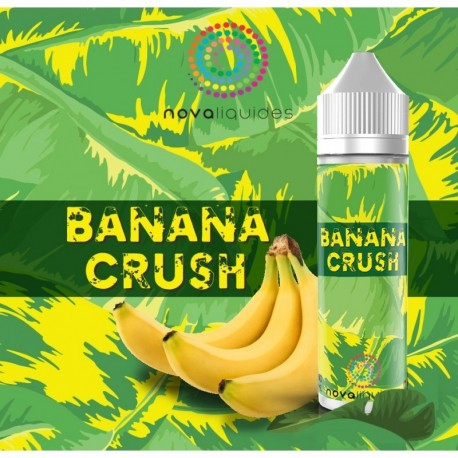 Banana Crush 50ml - Nova Liquides