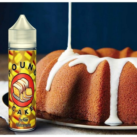 Pound Cake 50ml - The Vape Food Company