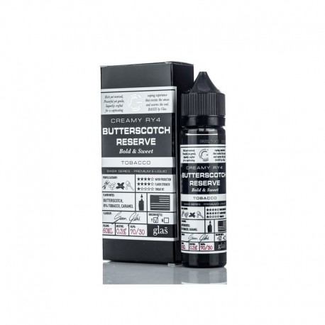 Butterscotch Reserve 50ml - Glas Vapor Basix Series