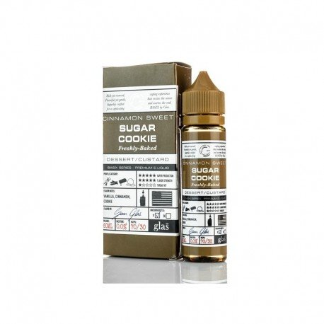 Sugar Cookie 50ml - Glas Vapor Basix Series