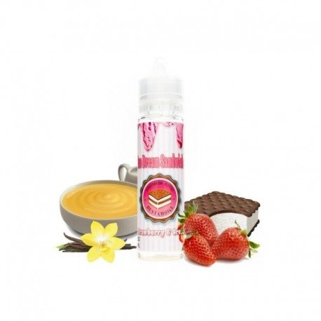 Strawberry & Cream 50ml -  ICE DREAM SANDWICH