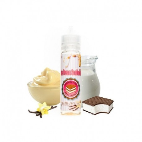 Vanilla & Cream 50ml - ICE DREAM SANDWICH