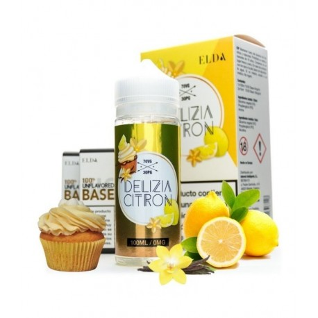 Delicia Citron 120ml - Elda