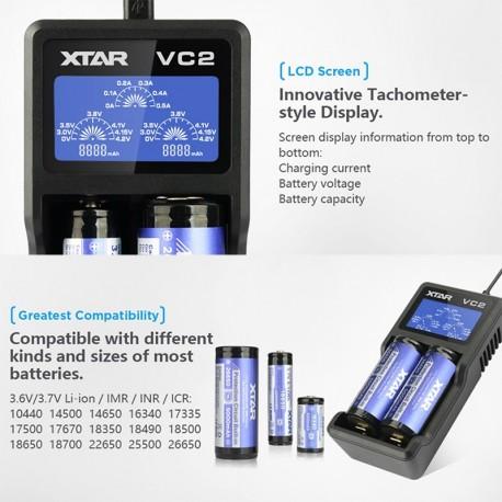 CARGADOR VC2 - XTAR