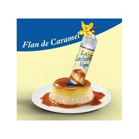 FLAN DE CARAMELO - LA LECHERIA VAPE