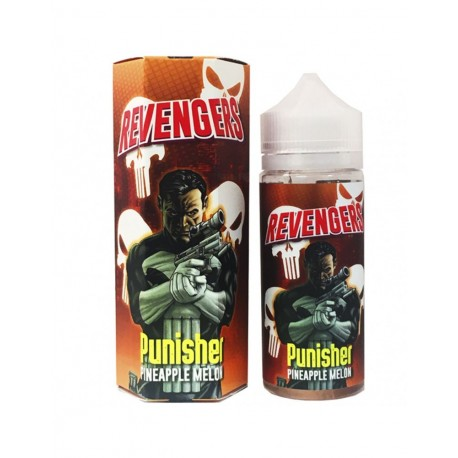 PUNISHER 100ml - NASTY JUICE