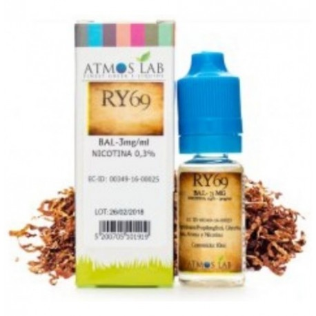 RY69 10ML 3MG - Atmos Lab