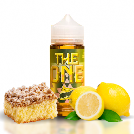 Creamy Lemon Crumble Cake - The One E-Liquid
