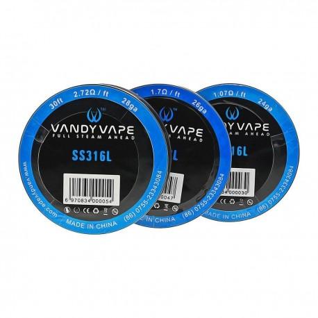 SS316L Wire 24ga - Vandy Vape