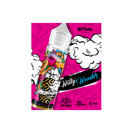 WILLY'S WONDER 50ml - THE MEDUSA JUICE
