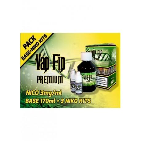 BASE KIT 20PG/80VG 3MG 200ML - VAP FIP