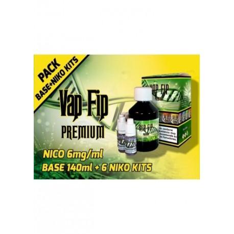 BASE KIT 20PG/80VG 6MG 200ML - VAP FIP