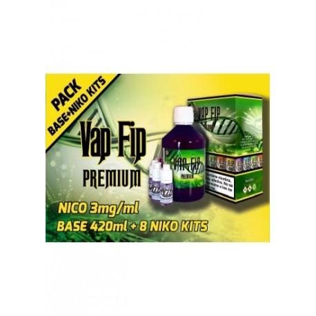 BASE KIT 60PG/40VG 3MG 500ML - VAP FIP
