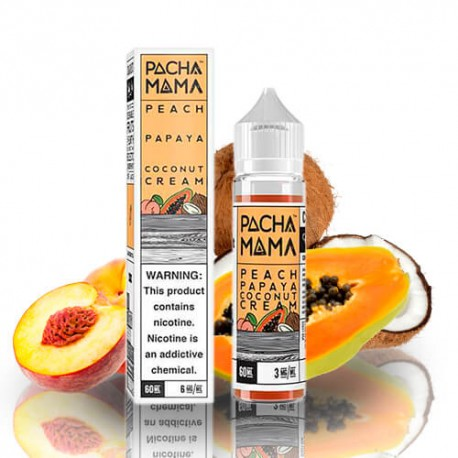 Peach, Papaya, Coconut Cream 50ml - Charlie's Chalk Dust (PachaMama)