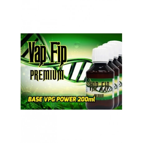 BASE 200ML 80VG/20PG 0MG - VAP FIP