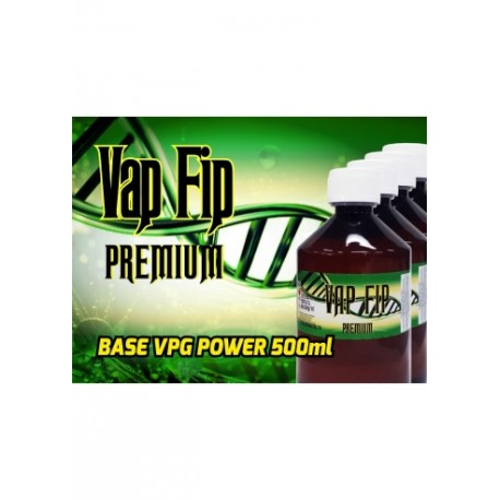 BASE 500ML 80VG/20PG 0MG - VAP FIP