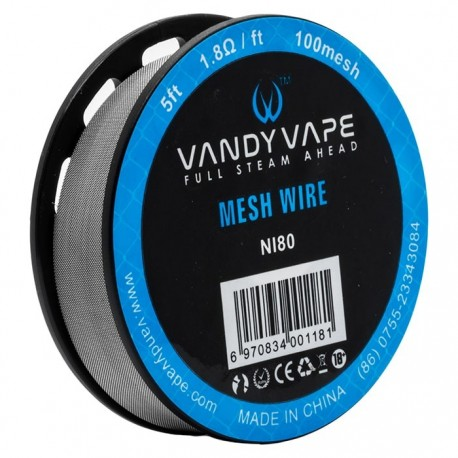 MESH WIRE NI80 5ft - VANDY VAPE