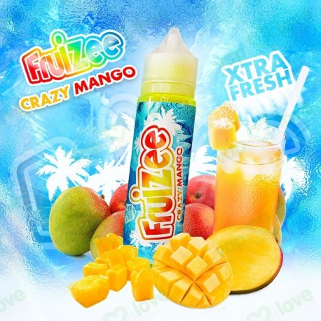 CRAZY MANGO 50ML - FRUIZEE