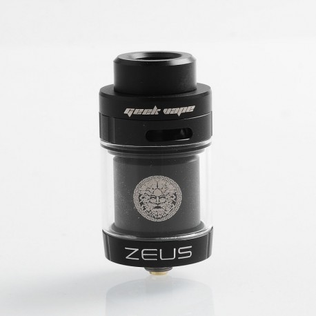 ZEUS DUAL RTA 26MM BLACK - GEEK VAPE