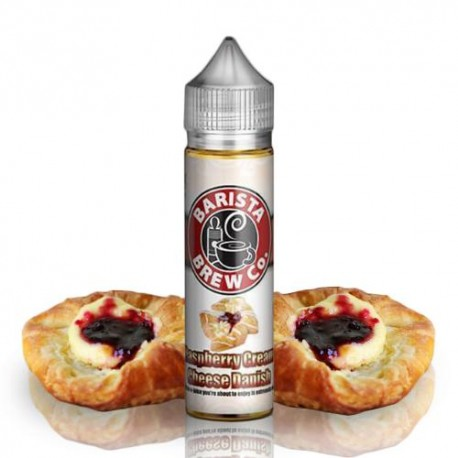 RASPBERRY CREAM CREAM CHEESE DANISH 50ml - BARISTA BREW CO.