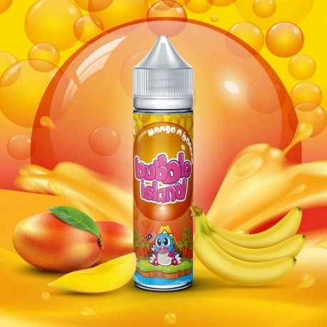 MANGO N BANANA 50ml - BUBBLE ISLAND