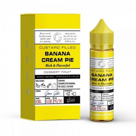 Banana Cream Pie 50ml - Glas Vapor Basix Series