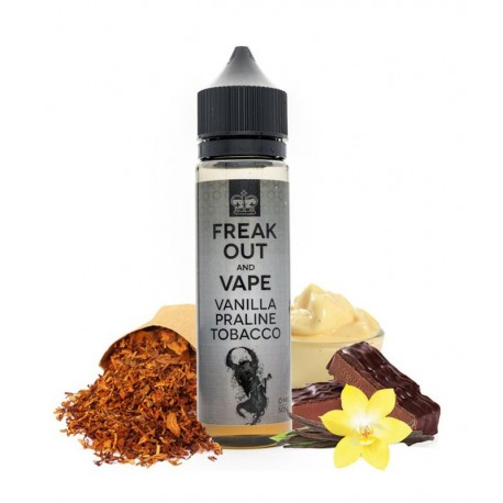 VANILLA PRALINE TOBACCO 50ml - FREAK OUT AND VAPE