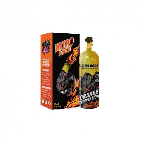 ORANGE TEMPTATION -  50ml - NITRO JUICE