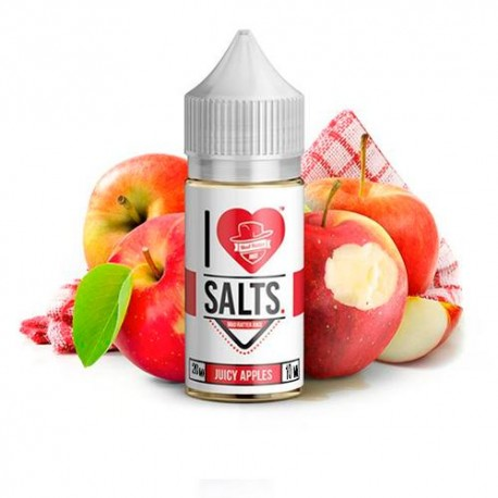 I LOVE SALTS JUICY APPLES 10ML 20MG - MAD HATTER