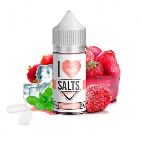 I LOVE SALTS STRAWBERRY ICE 10ML 20MG - MAD HATTER