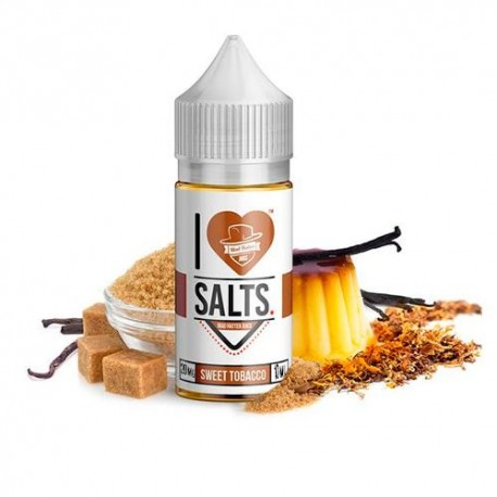 I LOVE SALTS SWEET TABACCO 10ML 20MG - MAD HATTER