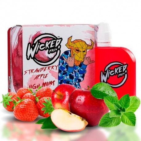 STRAWBERRY APPLE 50ML - WICKED BREW