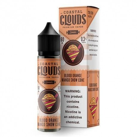 BLOOD ORANGE MANGO SNOW CONE 50 ML - COASTAL CLOUDS