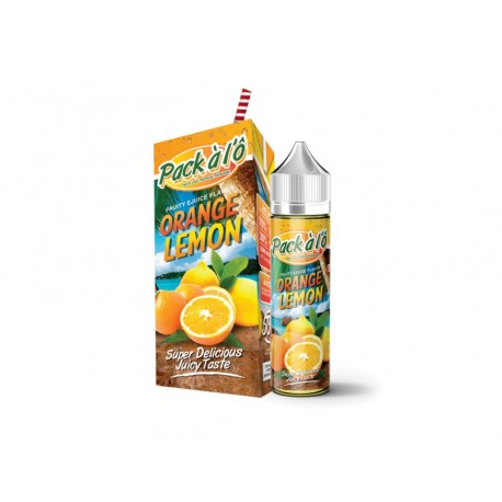 ORANGE LEMON 50ml - PACK À L'Ô