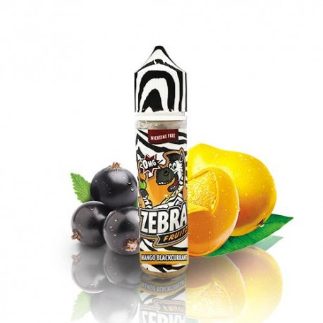 ZEBRA JUICE FRUITZ MANGO BLACKCURRANT 50ML