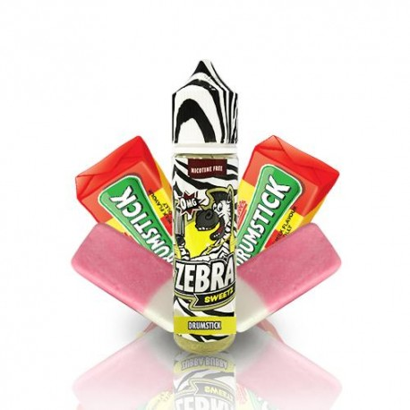 ZEBRA JUICE SWEETZ DRUMSTICKS 50ML