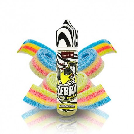 ZEBRA JUICE SWEETZ RAIMBOW STRIPS 50ML