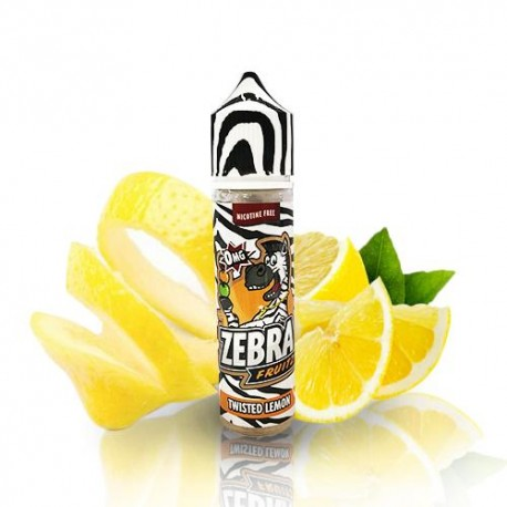 ZEBRA JUICE FRUITZ TWISTED LEMON 50ML