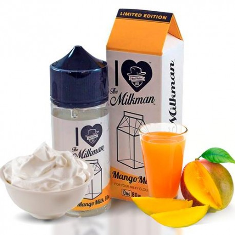 I LOVE THE MILKMAN MANGO MILK BY MAD HATTER & DRIPCLUB 80ML 0MG