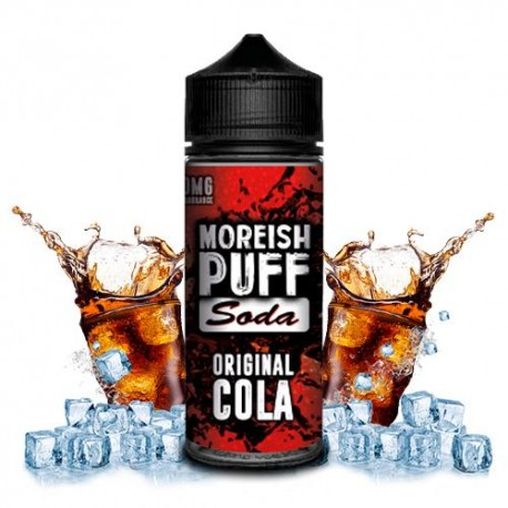 ORIGINAL COLA 100 ML  - MOREISH PUFF