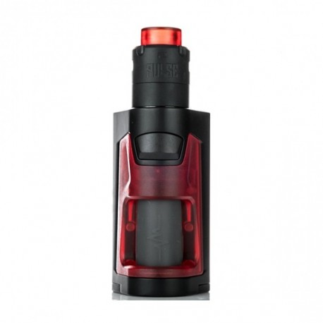 PULSE DUAL BF KIT 220W FROSTED RED - VANDY VAPE