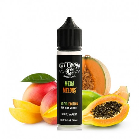 MEGA MELONS TPD 50ML 0MG - CUTTWOOD