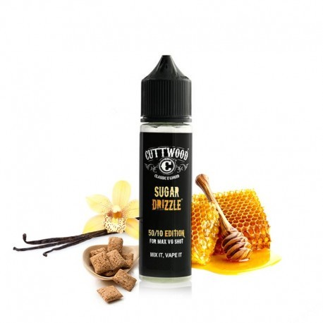 SUGAR DRIZZLE TPD 50ML 0MG - CUTTWOOD
