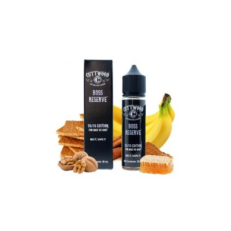 BOSS RESERVE TPD 50ML 0MG - CUTTWOOD
