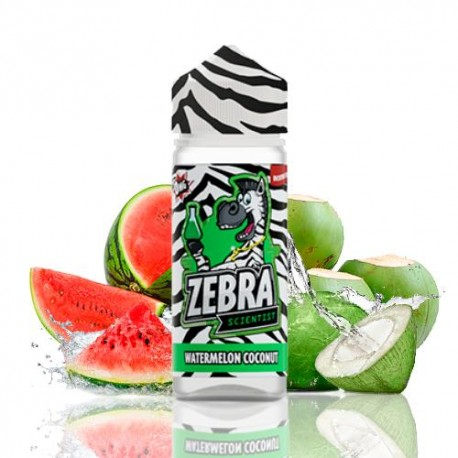 SCIENTIST WATERMELON COCONUT 50 ML - ZEBRA JUICE