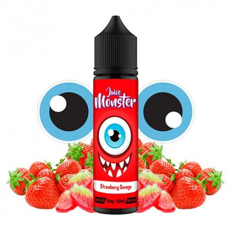 STRAWBERRY SAVAGE 50 ML - JUICE MONSTER