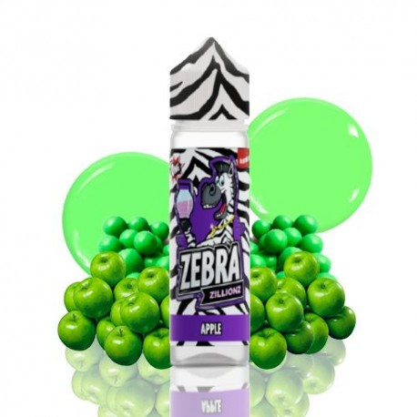ZILLIONZ APPLE 50ml - ZEBRA JUICE